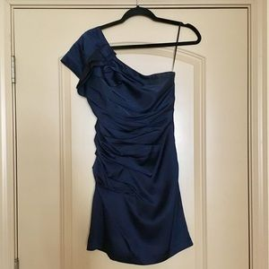 Express One-Shoulder Fitted Dress